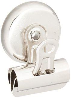 Sparco Bulldog Clip, Magnetic Back, Size 1, 1-1/4 X 3/8 I... https://www.amazon.com/dp/B0058TZ3PK/ref=cm_sw_r_pi_dp_x_DUPiyb0WJBFTJ
