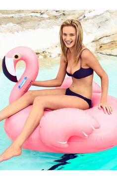 Can't wait to bring this inflatable flamingo to pool parties this summer! @nordstrom #nordstrom