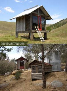 California Sleeping Cabins #tiny #living