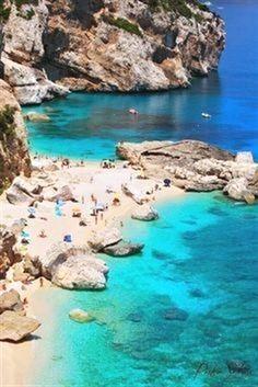 Sardinia, Italy. Beach, Italy, Nature #ActivitiesinItaly #VisitingItaly #LivinginItaly