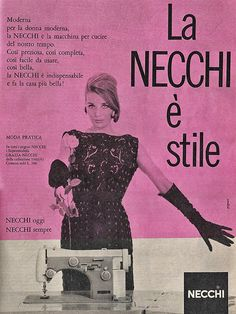 necchi 1960 by Lollodj, via Flickr