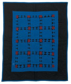 Amish Crib Quilt, - Cowan's Auctions