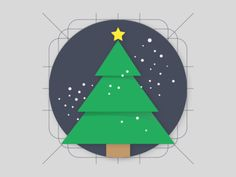 Christmas - Material Design Icon