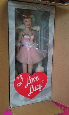 I love lucy collectable dolls @ Lost and Found Thrift - We Find it For You!
