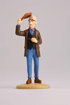 TINTIN FIGURINE NUMERO 35 COLLECTION disponible en France et en Belgique. Référence de la figurine : Isidore Boullu  Les Bijoux de la Castafiore, planche 62, C1