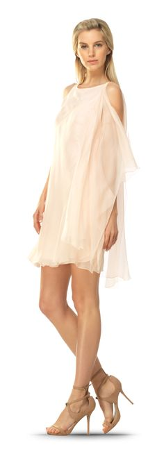 silk off-white wedding dresses short casual - Google Search
