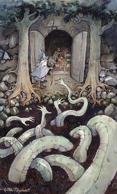 """Résultat de recherche d'images pour """"françois deneve corinne illustrations hobbit"""""""