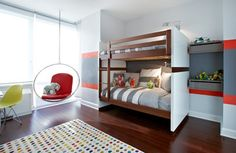 Upper West Side Waterfront Apartment - contemporary - Kids - New York - Chango & Co.