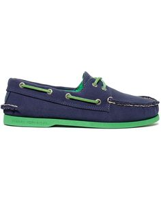 Sperry Top-Sider Men's Shoes, A/O Canvas Neon