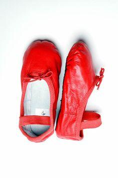 Baby/Kids Red Ballet Shoe