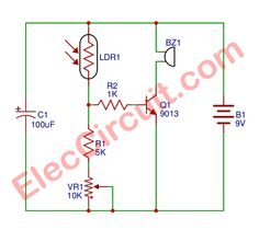 simple electronic circuits for beginner many circuits rh pinterest com