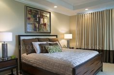 Beautiful Bedroom designs by Decorating Den Interiors. Want this look? Call The Landry Team to set up your FREE consultation 817-472-0067. Visit our website TheLandryTeam.DecoratingDen.com