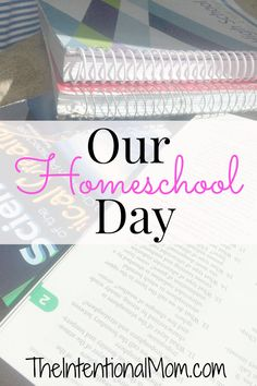 Are you wondering what a typical homeschool day looks like? We've been homeschooling for over 10 years. This is how the day works best in our homeschool.