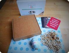 Material para un packaging regalo para un bebé