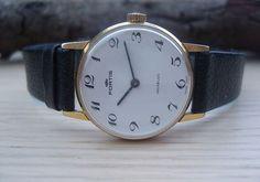 Vintage Fortis Swiss 17 Jewel Manual Wind Mid Size Wristwatch   eBay