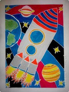 Рисунки детей 4 класса. Работа Боровиковой Анастасии. фото 6
