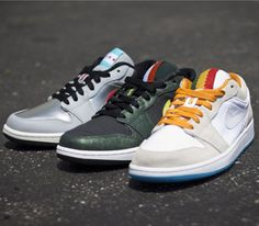 "Air Jordan I Low ""City Pack"""