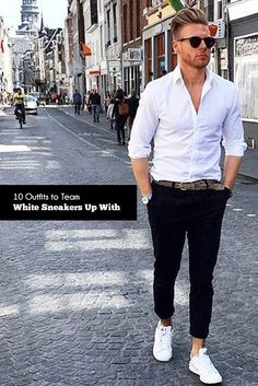 Know how to Pair your White Sneakers With Various Outfits