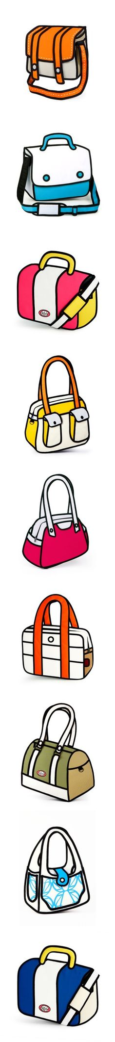Crazy Bags Look Like Cartoons -- But They're Real!