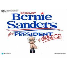 Bernie Sanders, Socialist.