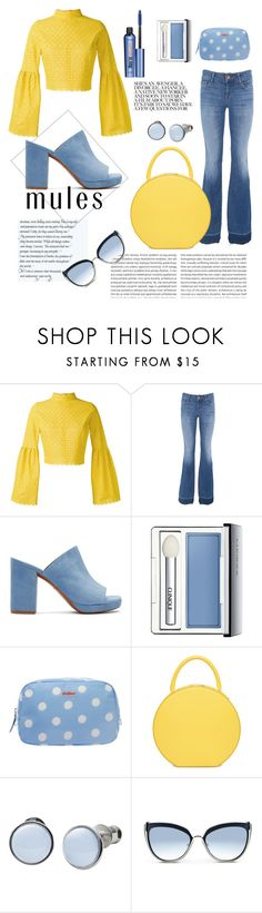 """Back to 1970's"" by martina-b33 ❤ liked on Polyvore featuring Daizy Shely, J Brand, Robert Clergerie, Clinique, Cath Kidston, Skagen, Karl Lagerfeld and Benefit"
