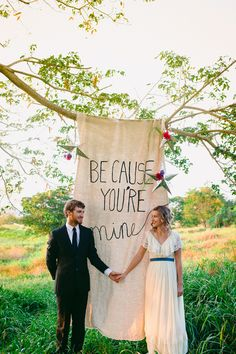 Rock and Roll Wedding Inspiration - http://fabyoubliss.com/2015/06/08/romantic-southern-rock-and-roll-wedding