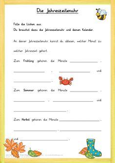 Kalender-Rätsel zum Jahr …   Deutsch   Pinte…