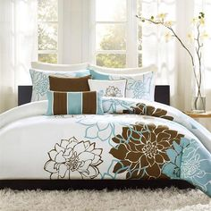 Shop for Duvets & Duvet Sets in Bedding. Buy products such as Better Homes and Gardens 3 Piece Chenille Duvet Cover Set at Walmart and save. Duvet Covers, Duvet Cover Sets, Home, Print Bedding, Home Essence, Comforter Sets, How To Clean Pillows, Duvet Sets, Floral Duvet Cover