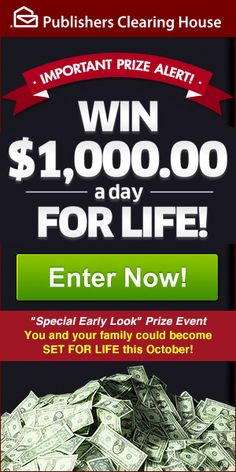 I would like to claim the SuperPrize from PCH and have representatives from the Prize Patrol bring me the check, balloons, champagne and the poster board with my name on it. This would make my day and change my life forever. Instant Win Sweepstakes, Online Sweepstakes, Wedding Sweepstakes, Travel Sweepstakes, Win Online, Online Games, Lotto Winning Numbers, Win For Life, Winner Announcement