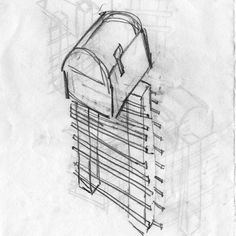 New Contemporary Mailbox Design With Extra Large Mailbox - Ceramicscapes Large Mailbox, New Mailbox, Contemporary Mailboxes, Red Bricks, Box Design, How To Be Outgoing, Home Depot, Projects To Try