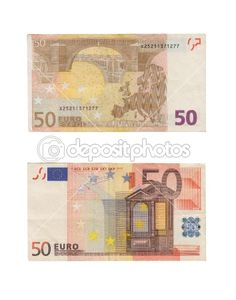 Graphic Design Class Assignment Inspiration: New 50 Euro Note