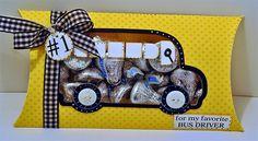 Bus Drivers Need Love Too!  So cute..