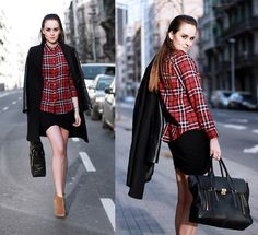 #plaid #mad #for #spotnshop #trend #fashion #winter2014 #winter2015 #winter #autumn #autumn2014