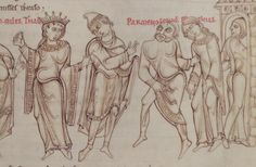 1150 - Terence's Comedies, in Latin, with Romanesque drawings. 47r