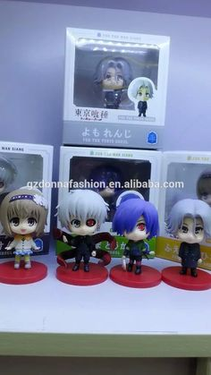 4pcs/set 11cm Anime Tokyo Ghoul Q Version PVC Action Figures Collectible Model Toys, View Nendoroid, donnatoyfirm Product Details from Guangzhou Donna Fashion Accessory Co., Ltd. on Alibaba.com
