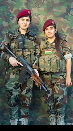 The gangsters of Daesh who pretend to be holy warriors are the most fearful of the Kurdish women mobilized to fight for their people