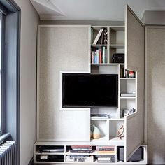 Wall TV Cabinet with Storage