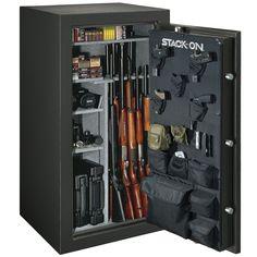 Hidden Gun Storage, Weapon Storage, Locker Storage, Door Storage, Stack On Gun Safe, Small Gun Safe, Revolver, Installing Electrical Outlet, Total Defense