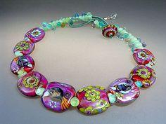 Pura Vida   handmade lampwork glass bead by ManuelasGlassArt, $645.00