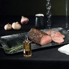 Roast Beef With Dijon-Caper Sauce