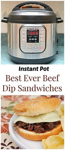 What's Cookin, Chicago: Instant Pot: Best Ever Beef Dip Sandwiches