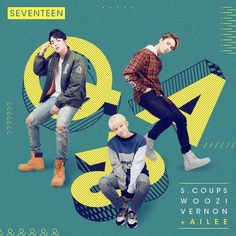 Seventeen's S.Coups, Woozi, and Vernon tops music charts with 'Q&A' feat. Ailee | allkpop.com
