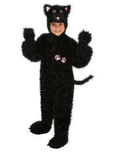 black cat costume on sale today for $26  sc 1 st  Pinterest & Child Black Cat Costume | Costumes! | Pinterest | Black cat costumes ...