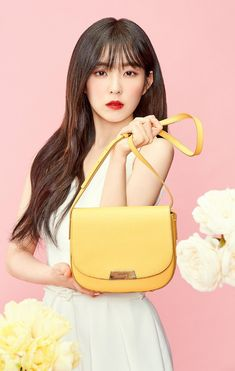Red Velvet Irene - Hazzys Accessories 2018 S/S Red Velvet アイリーン, Red Velvet Irene, South Korean Girls, Korean Girl Groups, Your Girl, My Girl, Red Velvet Photoshoot, Famous Girls, Cute Beauty