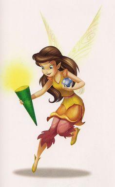 Pixie Hollow Cast - GLISSANDRA  〖 Disney Fairies Pixie Hollow fairy Glissandra 〗