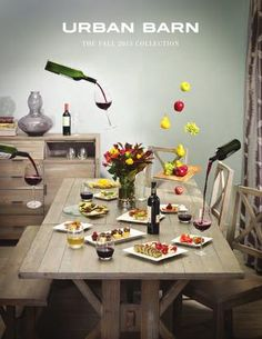 Fall 2013 Catalogue Thanksgiving Table SettingsExtension Dining TableNew UrbanFurniture