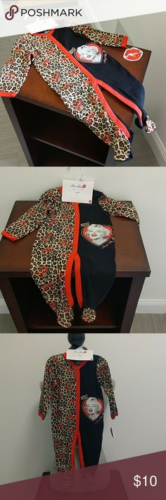 NWT Infant MARYLYN MONROE !! SZ 0-3 & 6-9 MO INFANT ONESY !! Marilyn Monroe & leopard !! So cute!!  Sz 0-3 mo & 6-9 mo available!! One Pieces Footies