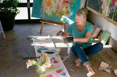 Sharon Barr Paintings follow instagram @sharonbarrpaintings #sharonbarrpaintings Abstract Oil, Oil On Canvas, Studios, Paintings, Colour, Artist, Instagram, Color, Paint
