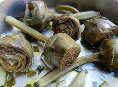 Carciofi in umido #artichoke #ricettedisardegna #cucina #sarda #sardinia #recipe