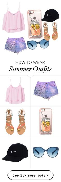 """Collection Of Summer Styles    """"the summer outfit contest!!!!!!!!!!!!!!"""" by browntheangel on Polyvore featuring MANGO, Casetify, NIKE and stripedshirt    - #Outfits  https://fashioninspire.net/fashion/outfits/summer-outfits-the-summer-outfit-contest-by-browntheangel-on-polyvore-featuring/"""